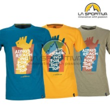[라스포르티바] REACHING THE TOP T SHIRT_M / LS61MWT001